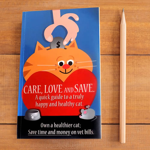 Care, Love and Save – A quick guide to a truly happy and healthy cat