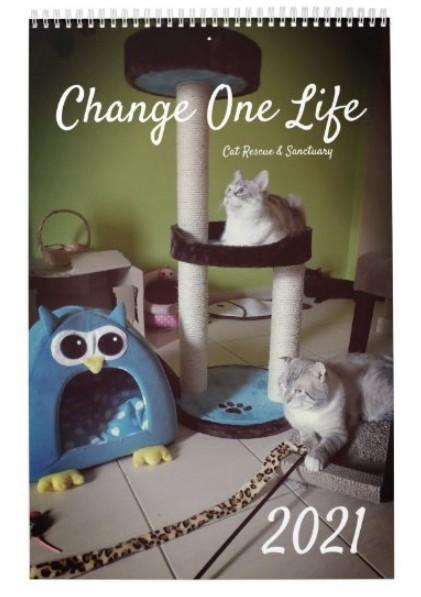 Change One Life 2021 Calendar